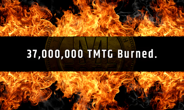 TGXC Touch Gold Exchange 37,000,000 TMTG Burned