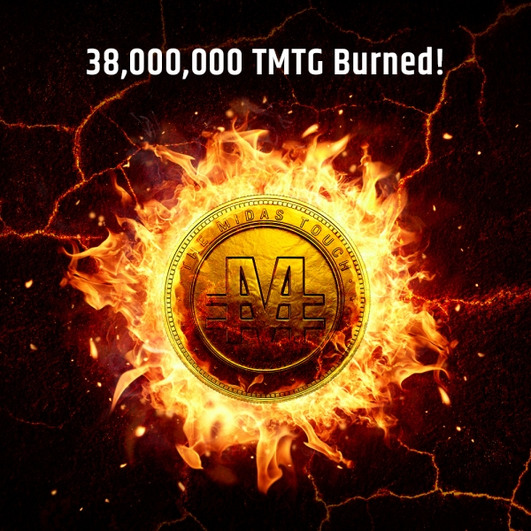 TGXC Touch Gold Exchange - 38,000,000 TMTG Burned!