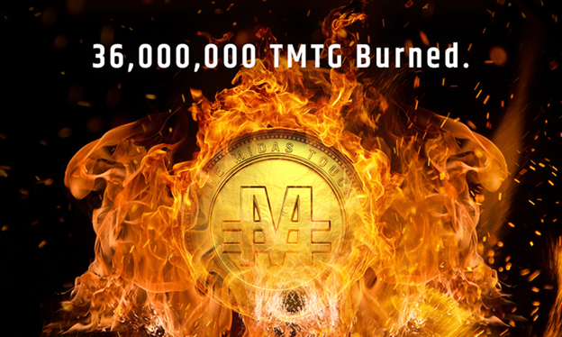 TGXC Touch Gold Exchange - 36,000,000 TMTG Burned!