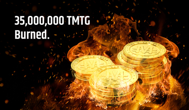 TGXC Touch Gold Exchange - 35,000,000 TMTG Burned