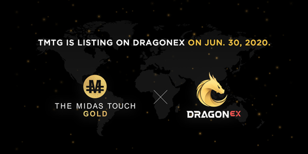 TGXC Touch Gold Exchange - TMTG is listing on Dragonex